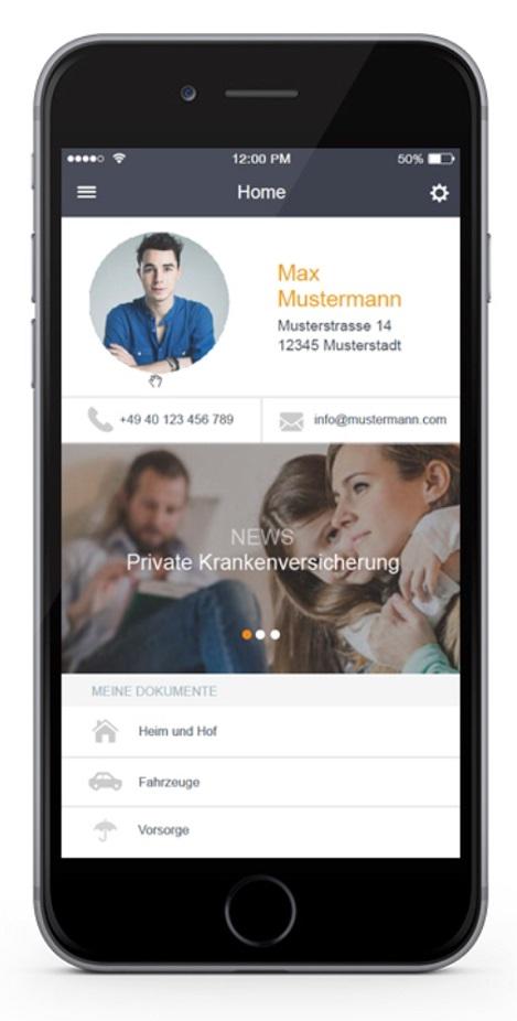 Fonds Finanz App Kundenordner