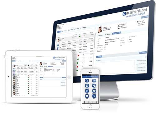Status GmbH Kunden-App von Mobilversichert