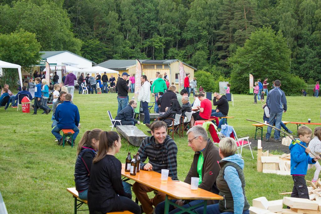 Um die 300 Teilnehmer kamen aus ganz Deutschland zum blau direkt Summer Camp.