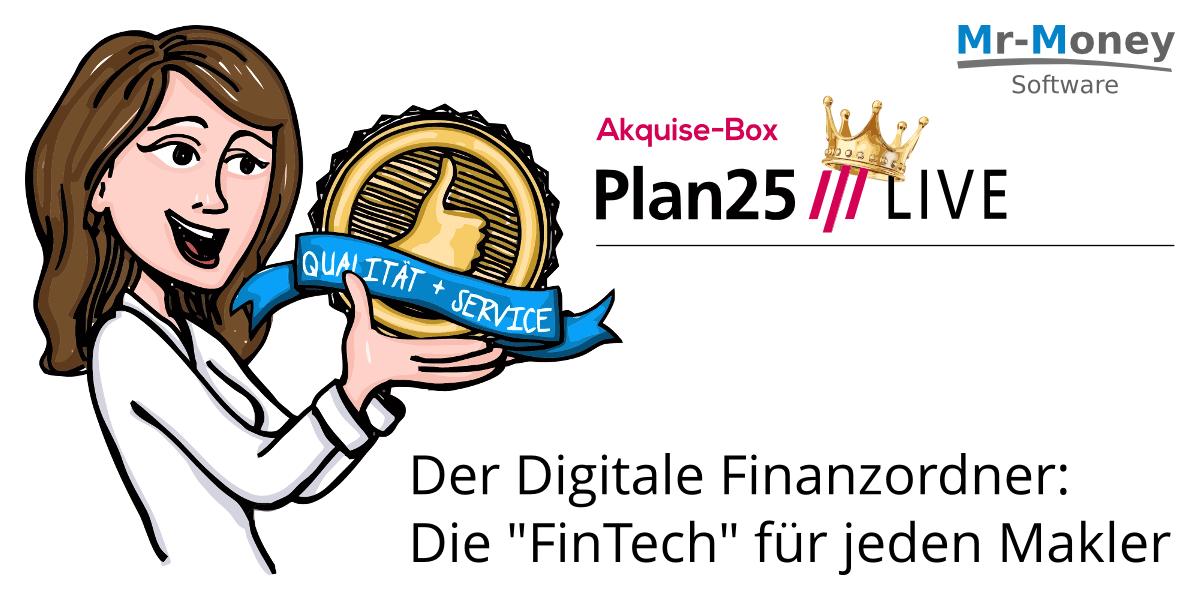 Plan25 digitaler Versicherungsordner von mr-money